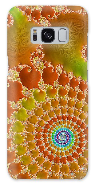 Tie Dye  Galaxy Case by Heidi Smith