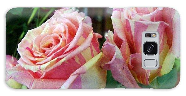 Tie Dye Roses Galaxy Case by Deborah Lacoste