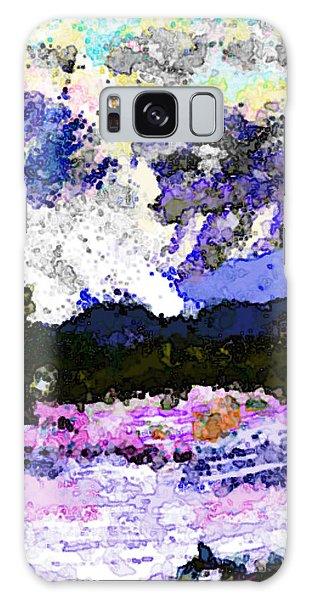 Tierra Amarilla Storm Sketch I Galaxy Case