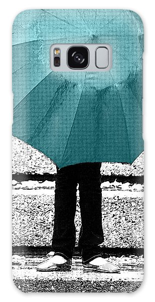 Tiffany Blue Umbrella Galaxy Case