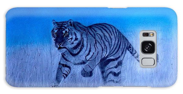 Tiger And Blue Sky Galaxy Case