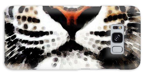 Clemson Galaxy Case - Tiger Art - Burning Bright by Sharon Cummings