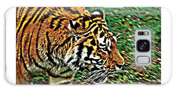 Tiger Bright  Naturally Rare Poster Galaxy Case by David Davies