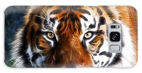 Tiger Close Up Galaxy Case
