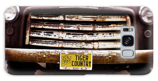 Tiger Country - Purple And Old Galaxy Case by Scott Pellegrin
