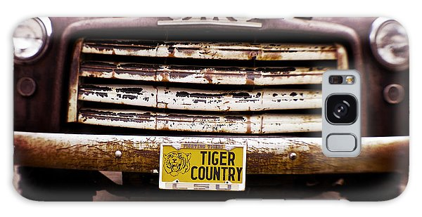 Tiger Country - Purple And Old Galaxy Case