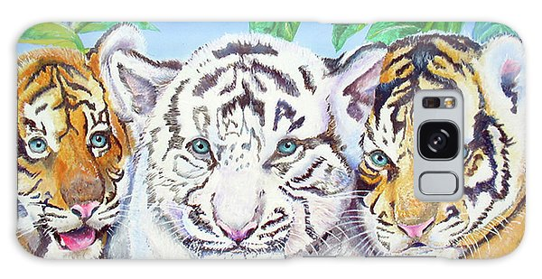 Tiger Cubs Galaxy Case by Thomas J Herring