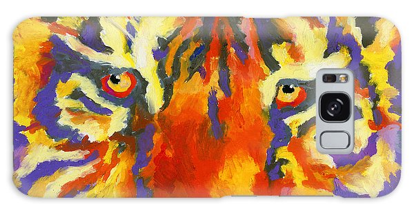 Tiger Eyes Galaxy Case by Stephen Anderson