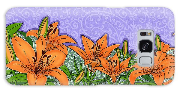 Tiger Lilies Galaxy Case