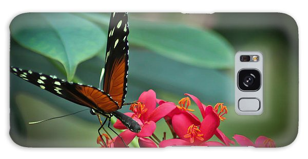 Tiger Longwing Butterfly Galaxy Case