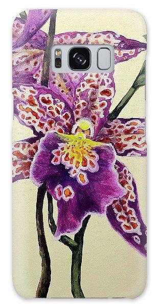 Tiger Orchid Galaxy Case