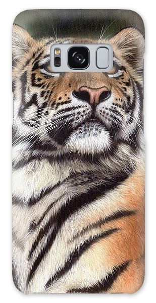 Tiger Painting Galaxy Case