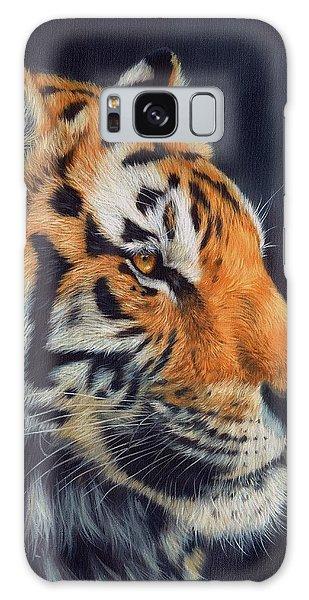 Tiger Profile Galaxy Case