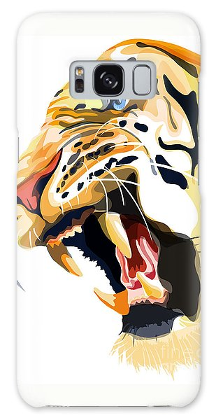 Tiger Roar Galaxy Case