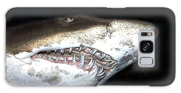 Tiger Shark Galaxy Case by Sergey Lukashin