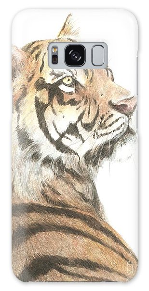 Tiger Study Galaxy Case