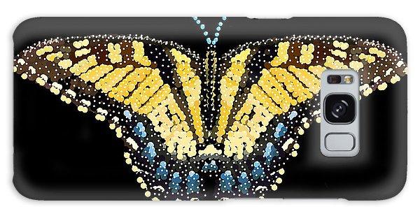 Tiger Swallowtail Butterfly Bedazzled Galaxy Case by R  Allen Swezey