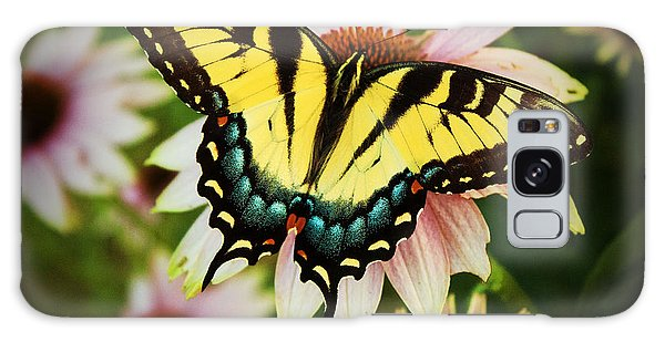 Tiger Swallowtail Butterfly Galaxy Case by Michael Porchik