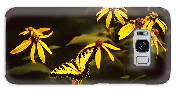 Tiger Swallowtail Perch  Galaxy Case by Bijan Pirnia