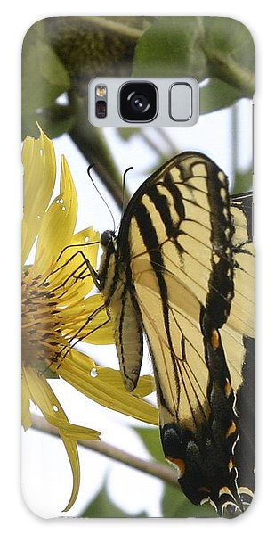 Tiger Swallowtail Galaxy Case by Phyllis Peterson