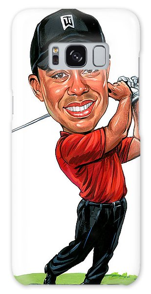 Tiger Woods Galaxy Case by Art