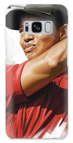 Tiger Woods Artwork Galaxy Case