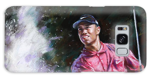 Tiger Woods  Galaxy Case by Viola El