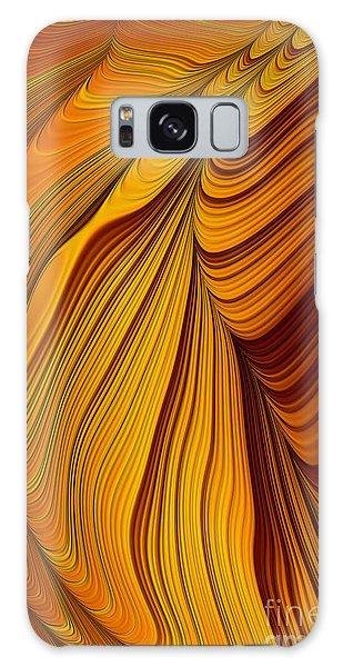 Style Galaxy Case - Tiger's Eye by John Edwards
