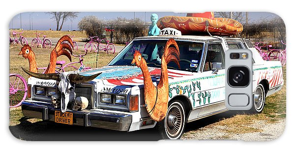 Tijuana Taxi Galaxy Case by Pattie Calfy