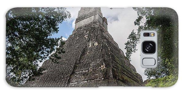 Tikal Pyramid 1b Galaxy Case
