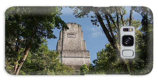 Tikal Pyramid 4b Galaxy Case