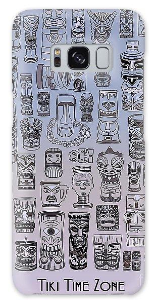 Galaxy Case featuring the digital art Tiki Cool Zone by Megan Dirsa-DuBois