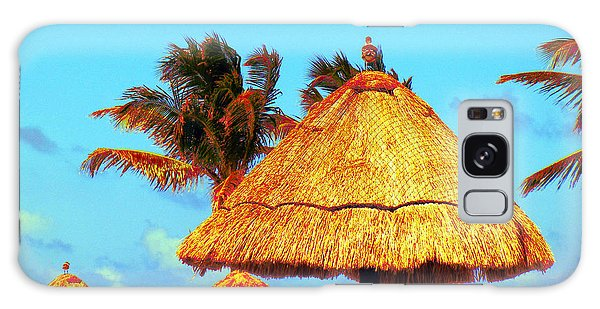 Tiki Huts Galaxy Case by J Anthony