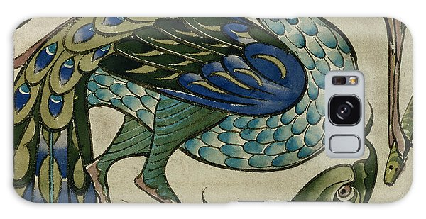 Tile Design Of Heron And Fish Galaxy S8 Case