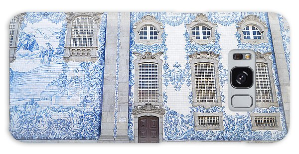 Tiled Church In Porto Portugal Galaxy Case