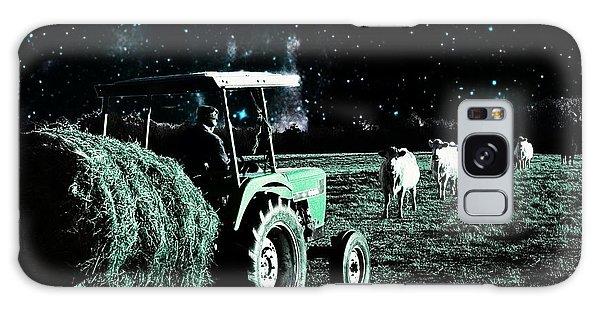 Till The Cows Come Home Galaxy Case by Bob Pardue