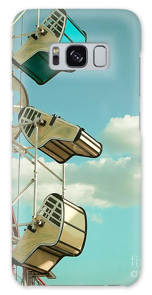 Tilt And Twirl Galaxy Case by Colleen Kammerer