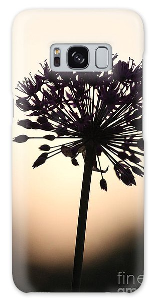 Tilted Silhouette Allium Galaxy Case