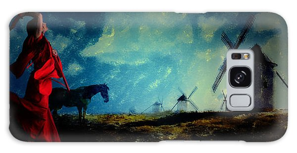 Tilting At Windmills Galaxy Case