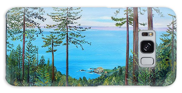 Timber Cove On A Still Summer Day Galaxy Case