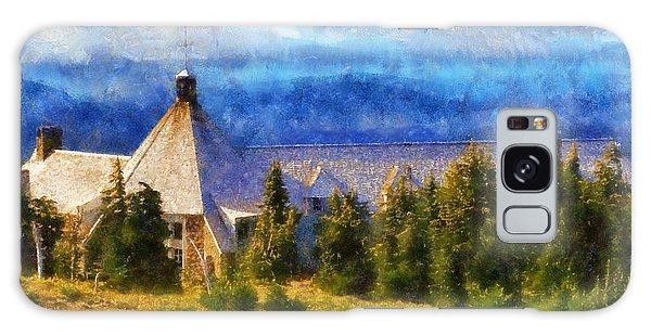 Timberline Lodge Galaxy Case by Kaylee Mason