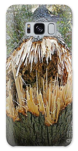 Timber Teeth Galaxy Case by Martin Konopacki
