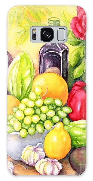 Time For Fruits And Vegetables Galaxy Case