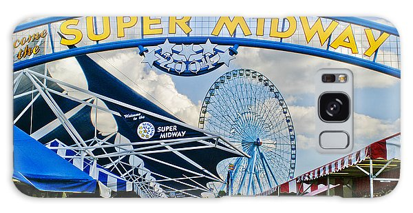 County Fair Galaxy Case - Fun On The Midway by David and Carol Kelly