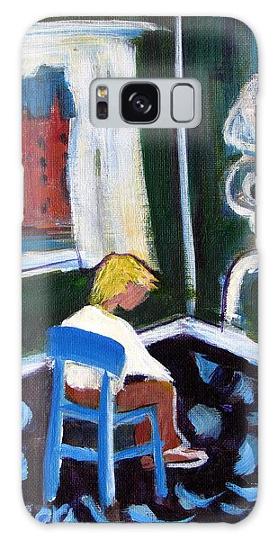 Time Out For De Kooning In A Chair In A Corner Galaxy Case