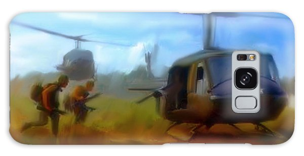 Time Sacrificed II Vietnam Veterans  Galaxy Case by Iconic Images Art Gallery David Pucciarelli