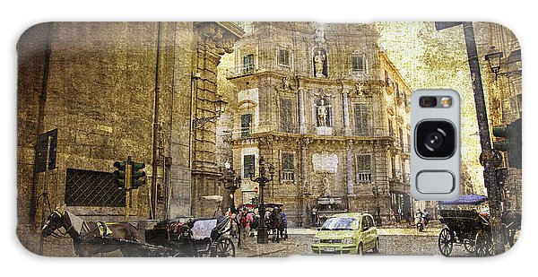 Time Traveling In Palermo - Sicily Galaxy Case