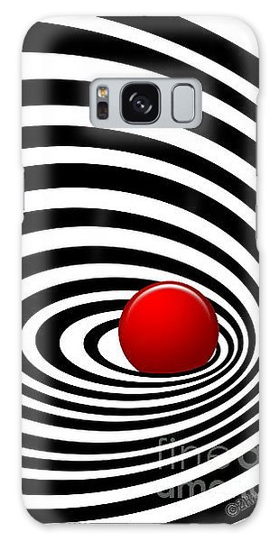 Time Tunnel Op Art Galaxy Case