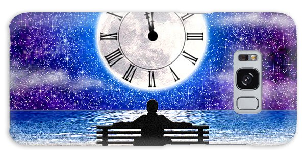 Time Waits For No One Galaxy Case by Cristophers Dream Artistry