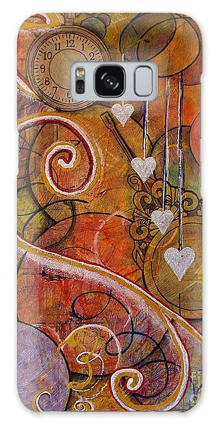 Timeless Love Galaxy Case by Jane Chesnut